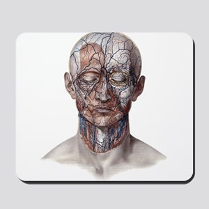 Human Anatomy Face Mousepad